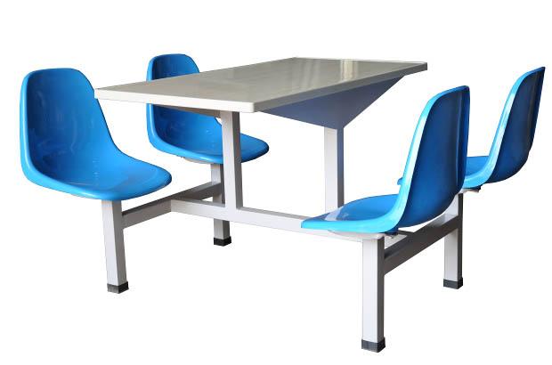 四人玻璃钢餐桌椅 MSD-CZ02