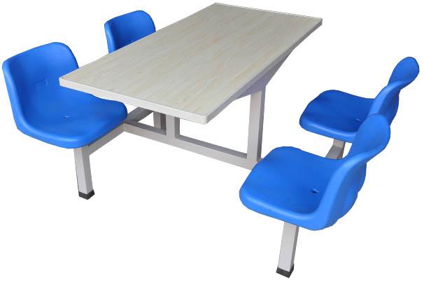 四人玻璃钢餐桌椅MSD-CZ03
