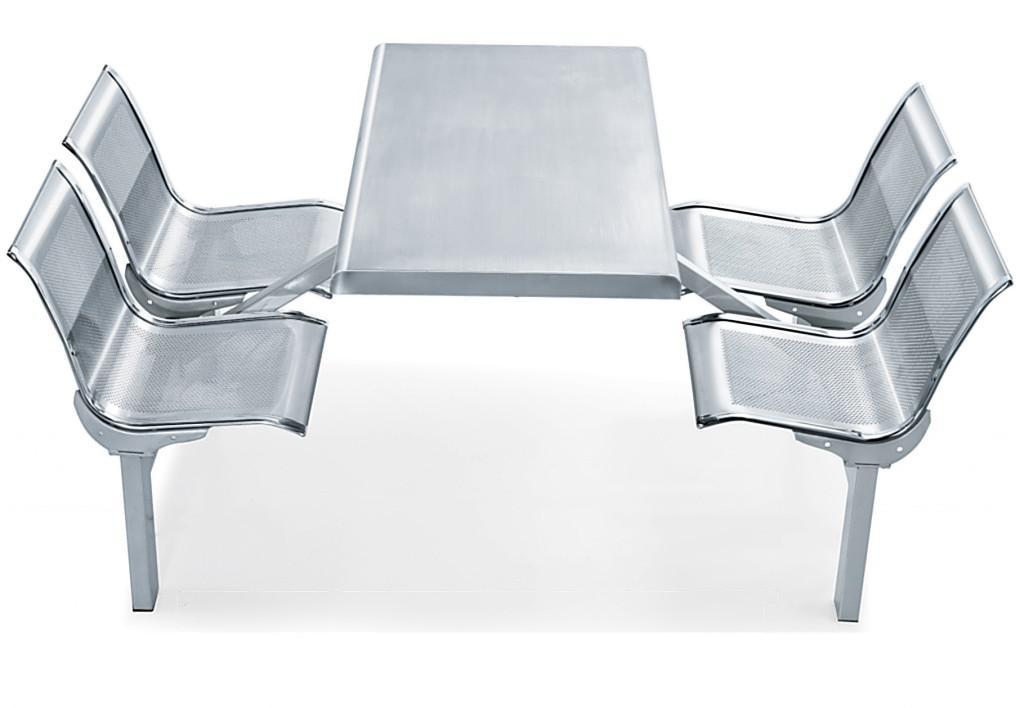 四人不锈钢餐桌椅MSD-CZ10