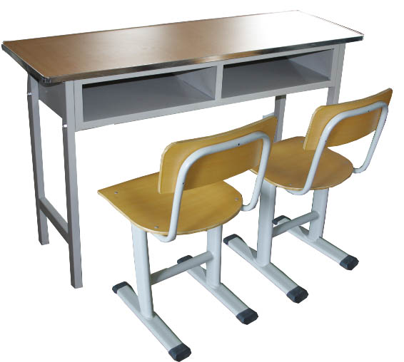 双人课桌椅 MSD-KZY-S03
