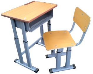 单人课桌椅 MSD-KZY-D04