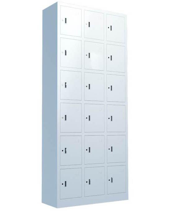 全钢十八门存包柜MSDZLG-QG4